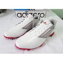 Sapato Tênis Adidas Adizero One Golf Golfe Branco 42 Novo