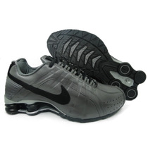 Tênis Nike Shox Junior Todo Branco 100% Original Imperdivel