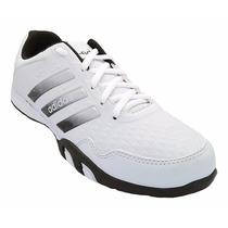 Tênis Sapatenis Calçado Sapato Adidas F500 Branco E Preto