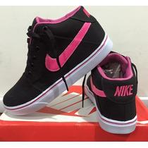 Tenis Botinha Nike Cano Alto Feminino/mas 12x Sem Juros