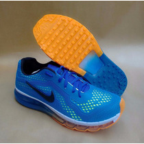 Tenís Nike Air Max 2013 Azul Forte Aço Mega Oferta !