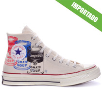 Tênis Converse All Star Ct As 1970 S Hi Andy Warhol Natural