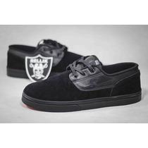 Tênis Hocks Club Lite Blackpremium Sneaker Suede Skate