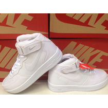 Tenis Bota Botinha Nike Air Force Juvenil E Adulto