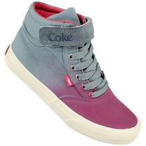 Tênis Coca-cola Shoes Mika Ombre - Loja Freecs -