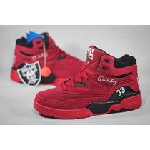 Tênis Patrick Ewing Athletics Guard Red Suede Raro Sneakers