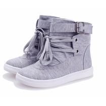 Tênis Botinha Escolar Supra Sneaker F. Gratis + P.entrega