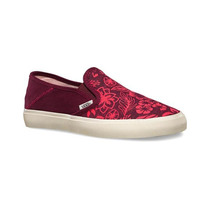 Vans Womens Slip-on Sf Surf Sneakers Floral