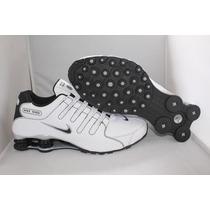 Tenis Nike Shox Nz Masculino Branco E Preto- Original