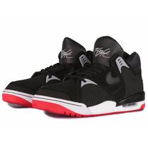 Tênis Nike Air Flight Bound 2 Black Infrared, Pronta Entrega