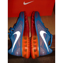 Tênis Nike Air Max 2014 Blue/red/orange Nº41 Br/9,5 Us Novo