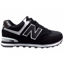 Tênis New Balance Ml574 Preto Core Plus