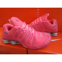 Nike Shox 4 Molas Feminino Lindos Imperdivel