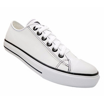 Tênis Sapato Converse Allstar Unisex Branco - Frete Gratis