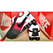 Tenis Nike Shox Quatro Mola Junior Nz , R4 Imperdivel