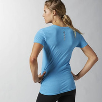 Camisa Reebok Crossfit Feminina Azul (aa1160)