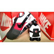 Tenis Nike Shox Quatro Mola Junior Nz R4 Pronta Entrega
