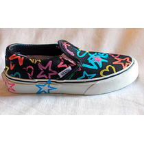 Tênis Vans Slip On Kids Stars