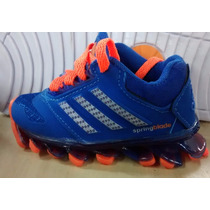 Tenis Adidas Springblade Para Bebe Lindas Cores - B145