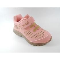 Tênis Infantil Ortope Dna Flex - Baby Coral