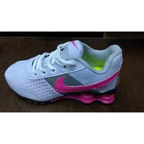 Tenis Nike Shox Nz 4 Molas Infantil Lançamento + Frete Grati