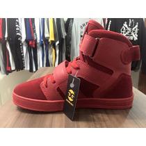 Tênis Qix Double G Vermelho/vermelho