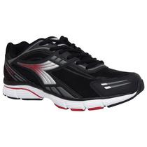 Tênis Diadora Masculino Running 125312 Dual Preto/vermelho