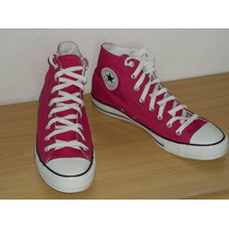 Tênis Converse All Star Seasonal Hi - Cor Carmim - Tam. 42