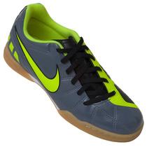Tênis Futsal Infantil Nike Total 90 Exacto Iii Ic Chumbo/ve