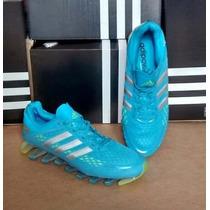 Novo Adidas Springblade 2 Razor Azul Bebe 100% Original Pron