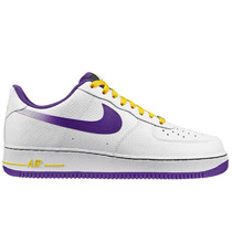 Tênis Nike Air Force 1 One Low Kobe Lakers, Pronta Entrega.