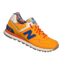 Tênis New Balance Ml574 Laranja