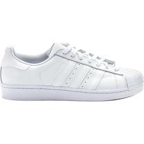 Tenis Adidas Superstar Foundation White White