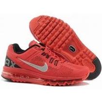 Nike Air Max 2014 Original 100% Todo Vermelho Imperdivel