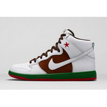Nike Dunk Sb High Cali 40 Raro