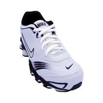 Tênis Infantil Nike Shox Turbo Infantil Branco E Preto N 31