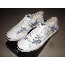 Tenis Converse Jack Purcell Cinza Floral Nº 41 Osklen Nike