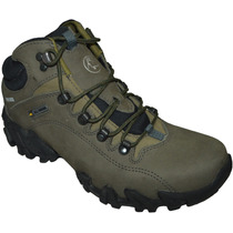 Bota Bull Terrier Forester Hi Couro Natural Original + Nota