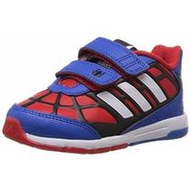 Tênis Infantil Adidas Disney Spiderman Homem Aranha Original