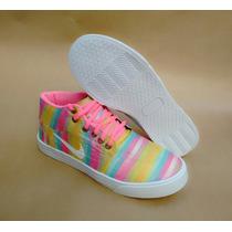 Nike Air Force Skate Sneaker Botinha Colorido Xadrez + Frete