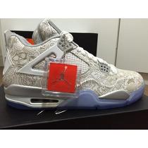 Nike Air Jordan 4 Retro Laser Masculino