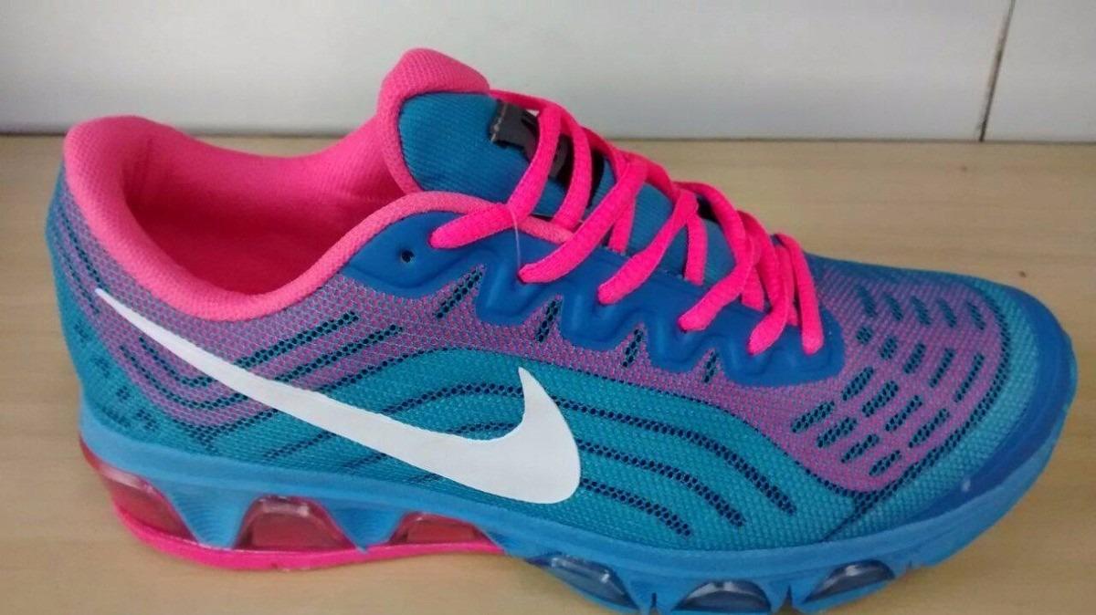 air max 90 rosa e azul