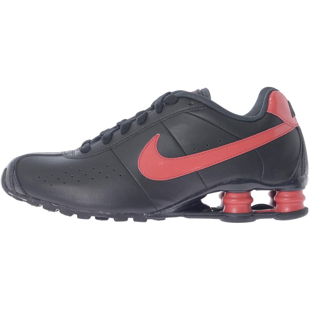 huge selection of f1360 0c47d ... preto vermelho  tênis masculino nike shox classic ii .. ...