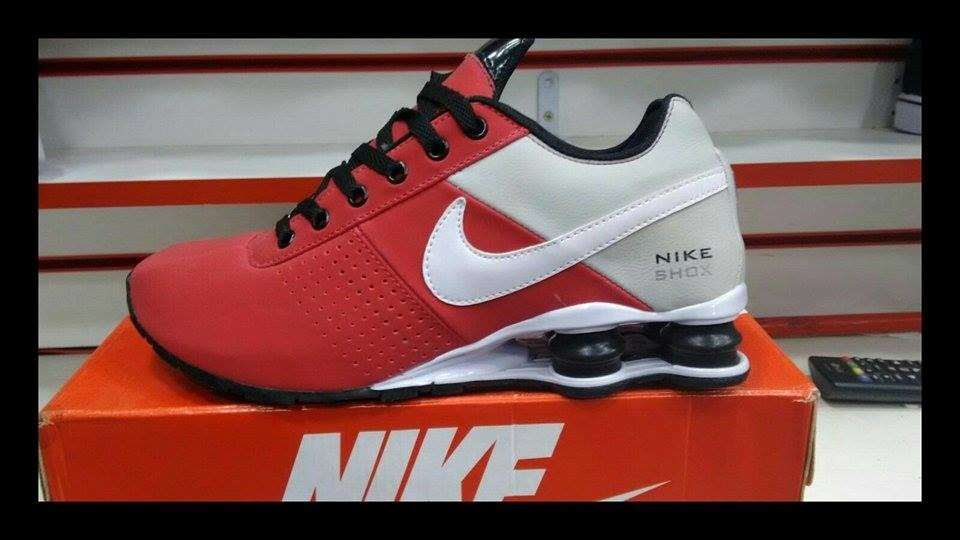 Nike Shox Deliver Red And White