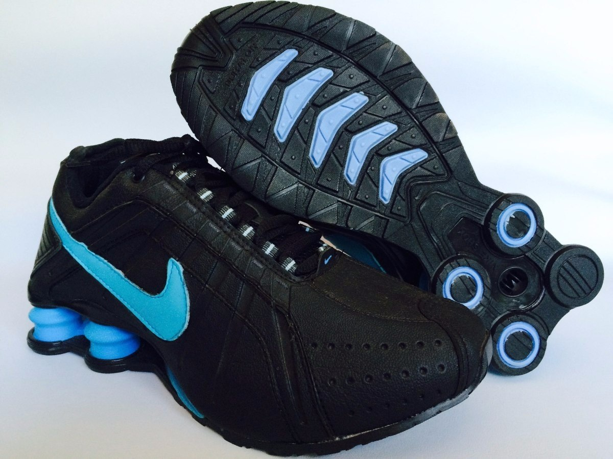 60a71111e1 tenis nike shox masculino azul