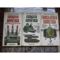 Guias De Armas De Guerra - Lote 4 Livros Exército Soviético