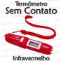 Termômetro Sem Contato -infravermelho - Lcd - Garantia 1 Ano
