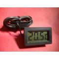 Termômetro Digital Refrigeração -50ºc A +70ºc Black / White