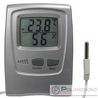 Termo-higrômetro Digital Temperatura Interno Externo Incoter