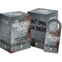 Box The Walking Dead ( 5 Livros ) + Brinde - Novo